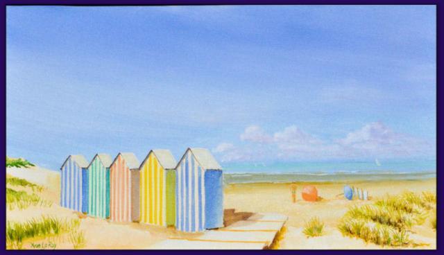 Les cabanes de plage for Cabane de plage pour jardin